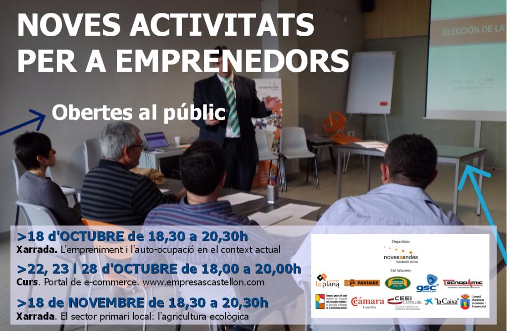 activitats emprenedors oct nov 2013